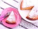 Рецепта Маслен ванилов кекс с пудра захар